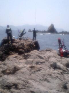 高知鵜来島 グンカン、白岩