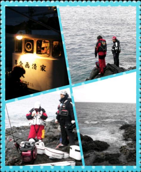 高知 大月にて磯釣り